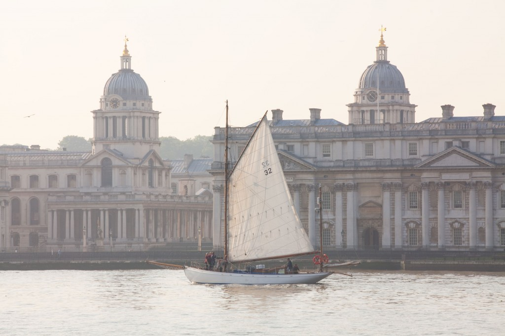 Duet on the River Thames at Greenwich
