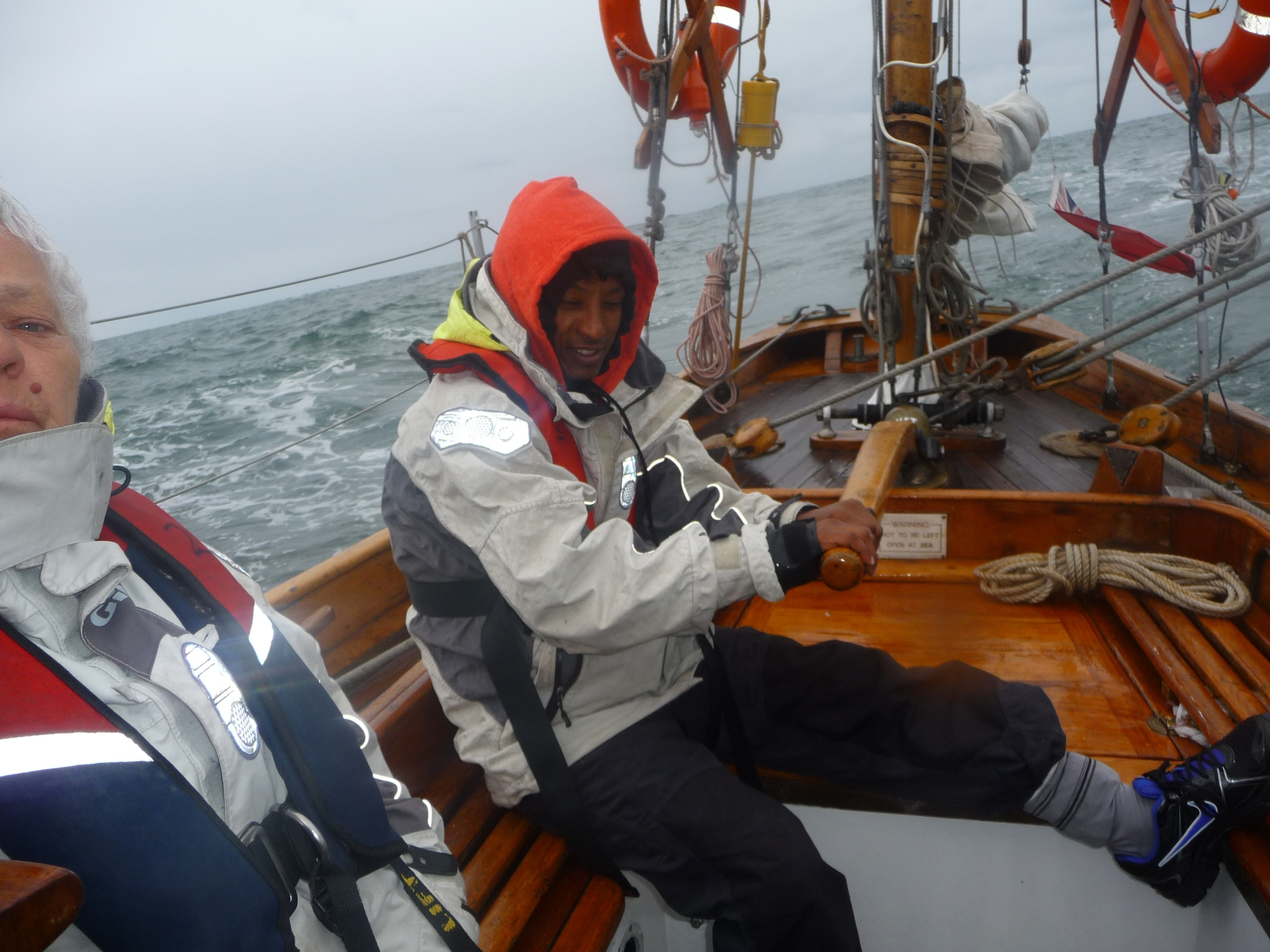 at the helm of Duet