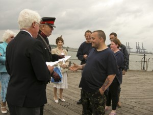 Vice Lord Lieutenant of Essex presents Certificate to young person